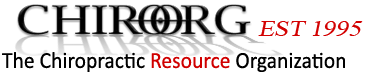 Chiropractic Resource Organization – largest Chiropractic News Source Logo